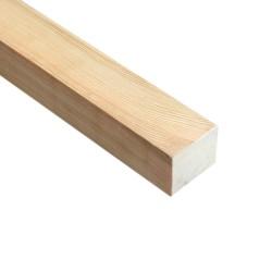 SZN Wood - SZN Wood Düz Profil 100 x 4,2 x 3,4 Cm LADİN RENDELİ +
