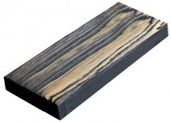 SZN Wood - SZN Wood Eskitme Ahşap Kalas Ladin 200 x 14 x 4 Cm SZN-01-Black
