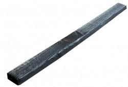 SZN Wood - SZN Wood Eskitme Ahşap Köşe Pervazı Ladin 200 x 4 x 2 Cm SZN-01-Black