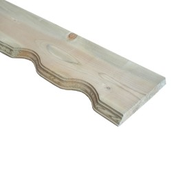 SZN Wood - AHŞAP ALIN TAHTASI 14,0 Cm LADİN 2.SINIF EMPRENYELİ