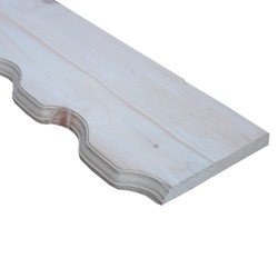 SZN Wood - AHŞAP ALIN TAHTASI 19,0 Cm LADİN 2.SINIF