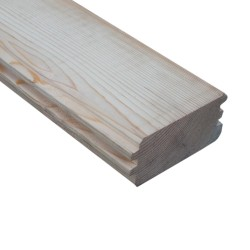 SZN Wood - AHŞAP DUVAR TAVAN KAPLAMA LAMBRİ 14,5 x 6,2 Cm SARI ÇAM 2.SINIF ÇİFT TARAFLI PAHLI