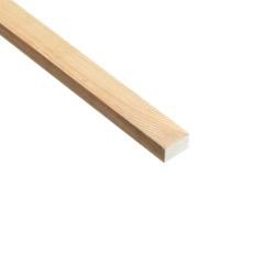 SZN Wood - SZN Wood Ahşap Düz Profil 2,0 x 1,0 Cm LADİN RENDELİ