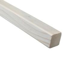SZN Wood - AHŞAP PROFİL DECK 4,0 x 4,0 Cm LADİN 2.SINIF