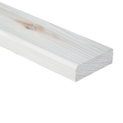 SZN Wood - AHŞAP PROFİL DECK 6,0 x 2,0 Cm LADİN 2.SINIF