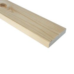 SZN Wood - AHŞAP PROFİL DECK 9,0 x 2,0 Cm LADİN 2.SINIF
