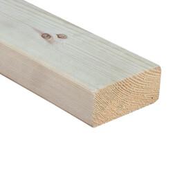 SZN Wood - AHŞAP PROFİL DECK 9,0 x 4,0 Cm LADİN 2.SINIF