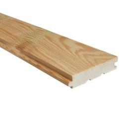 SZN Wood - AHŞAP ZEMİN DÖŞEME TAHTASI 8,5 x 1,8 Cm KIZILÇAM SÜPER EKLİ