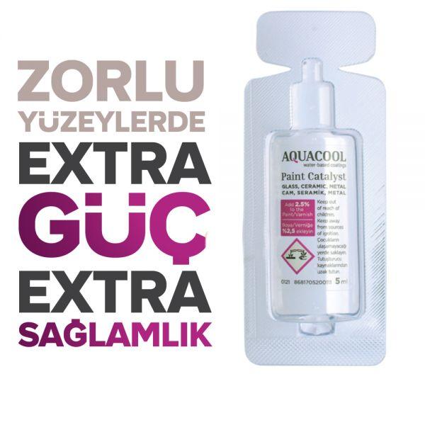 AquaCool Trend Katalizör Hobi Boyası Boya / Vernik Katalizörü Tek 5 ml
