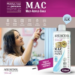 Aquacool - AquaCool Trend M.A.C Hobi Boyası Su Bazlı Akrilik 150 ml