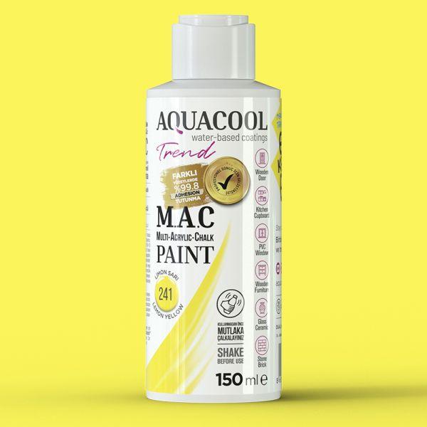 AquaCool Trend M.A.C Hobi Boyası Su Bazlı Akrilik 150 ml