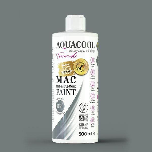 AquaCool Trend M.A.C Hobi Boyası Su Bazlı Akrilik 500 ml