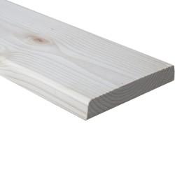SZN Wood - AHŞAP PROFİL DECK 14,0 x 2,0 Cm LADİN 2.SINIF