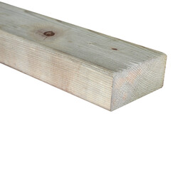 SZN Wood - AHŞAP PROFİL DECK 9,0 x 4,0 Cm LADİN 2.SINIF YEŞİL EMPRENYELİ