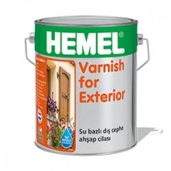HEMEL - HEMEL VARNİSH FOR EXTERİOR SU BAZLI - AQUA CİLA DIŞ MEKAN 2.5 LT