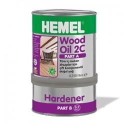 HEMEL - HEMEL WOOD OİL 2C-SET YAĞ İÇ MEKAN 0,90 LT