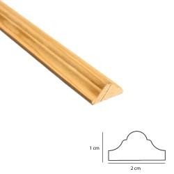 SZN Wood - SZN Wood Ahşap Duvar Çıtası 100 x 2,0 x 1,0 Cm Sarıçam 1.Sınıf SZN001