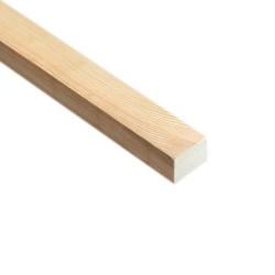 SZN Wood - SZN Wood Ahşap Düz Profil 3,0 x 2,0 Cm LADİN RENDELİ