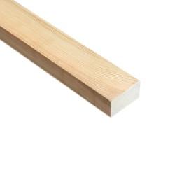 SZN Wood - SZN Wood Ahşap Düz Profil 4,0 x 2,0 Cm LADİN RENDELİ
