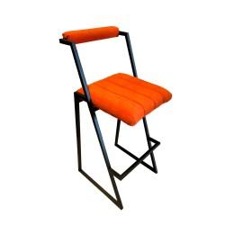 SZN Wood - SZN Wood Bar Sandalyesi Paris - Özel Renk Siyah - 65cm Oturum 43x48x95cm