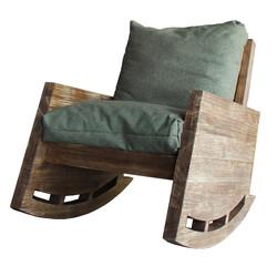 SZN Wood - SZN Wood Berjer Uruz Ladin Eskitme - - SZN51-Teak 48cm Oturum 70x110x80cm