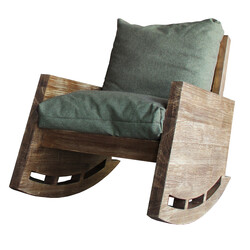 SZN Wood Berjer Uruz Ladin Eskitme - - SZN51-Teak 48cm Oturum 70x110x80cm  - Thumbnail
