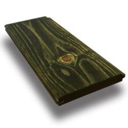 SZN Wood - SZN Wood Eskitme Ahşap Lambri Pahlı Düz Ladin 200 x 9,0 x 1,2 Cm SZN-66-Irish Green