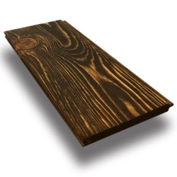 SZN Wood - SZN Wood Eskitme Ahşap Lambri Pahlı Düz Ladin 200 x 9,0 x 1,2 Cm SZN-92-Wenge