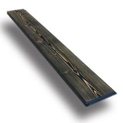 SZN Wood - SZN Wood Eskitme Ahşap Lambri Pahlı Düz Ladin 99 x 13,7 x 2,0 Cm SZN-01-Black