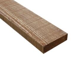 SZN Wood - SZN Wood Ham Eskitme Ahşap 8-10cm Ladin 100 x 10 x 2,5 Cm SZN-51-Teak