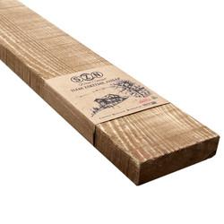 SZN Wood - SZN Wood Ham Eskitme Ahşap 8-10cm Ladin 50 x 10 x 2,5 Cm SZN-51-Teak