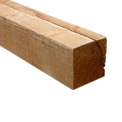 SZN Wood - SZN Wood Ham Eskitme Ahşap Kalas Ladin 100 x 9,5 x 9,5 Cm SZN-51-Teak
