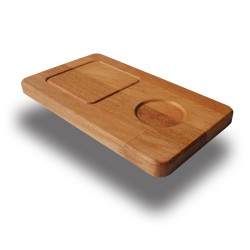 SZN Wood - SZN Wood Kahve Ahşap Sunum Tabağı Kayın 15x26x1,8cm