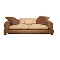 SZN Wood - SZN Wood Kanepe Relax 3 lü Keten Bej 220 x 100 x 60 cm