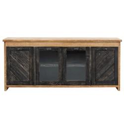 SZN Wood - SZN Wood Konsol Moiso Ladin Eskitme Ahşap SZN-51-Teak 195 x 50 x 85 cm Çapraz Çift Renk