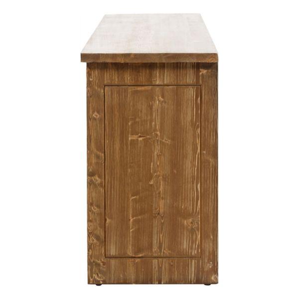 SZN Wood Konsol Moiso Ladin Eskitme Ahşap SZN-51-Teak 195 x 50 x 85 cm Çapraz Çift Renk