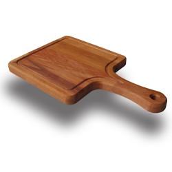 SZN Wood - SZN Wood Kürek Ahşap Sunum Tabağı Kayın 19x32x1,8cm