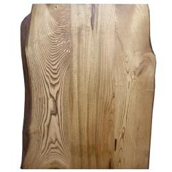 SZN Wood - SZN Wood Kütük Masa Kestane Geniş Ekli 2 Kenar Sulama -- W01-Dark Oak -- -- 108 x 85 x 5,6 cm