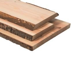 SZN Wood - SZN Wood Kütük Panel Ladin-Göknar Tek Parça 2 Kenar Sulama -- -- -- -- 100 x 26-30 x 3 cm