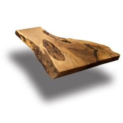 SZN Wood - SZN Wood Kütük Sehpa Ceviz Tek Parça 2 Kenar Sulama -- MC-Pure Hybrid -- -- 127 x 59 x 5,0 cm