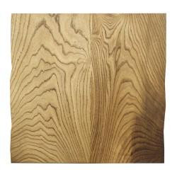 SZN Wood - SZN Wood Kütük Sehpa Kestane Geniş Ekli 2 Kenar Sulama -- W01-Dark Oak -- -- 59 x 62 x 5,5 cm