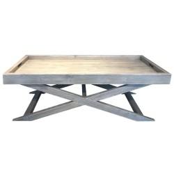 SZN Wood - SZN Wood Orta Sehpa Axis -- Ahşap Ladin Özel Renk - -- 70 x 140 x 45 cm