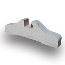 SZN Wood - SZN Wood Seperatör Profili 30 x 9,0 x 4,0 Cm LADİN DESTEK AYAĞI KANAL ENİ 40 mm