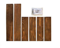 SZN Wood Troy Ahşap Raf Ladin-Göknar Kendin Yap 40 x 49 x 9 cm SZN92-Wenge - - - - - Thumbnail