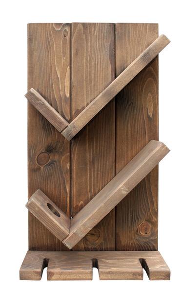 SZN Wood Vinto Şaraplık Ladin-Göknar Kendin Yap 27 x 49 x 11 cm SZN92-Wenge - - - -